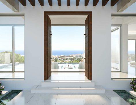 Renders interiores Villa California en Marbella