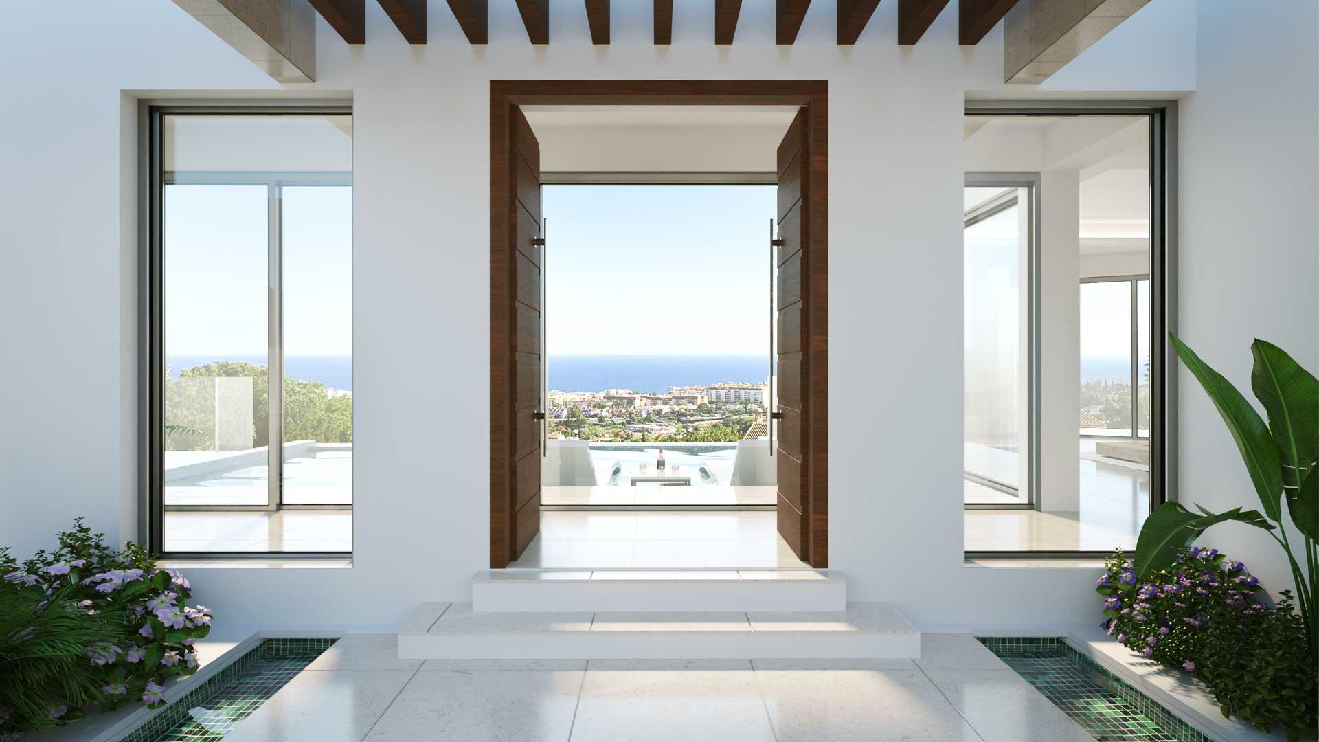 Renders para Luxury Villa en Marbella