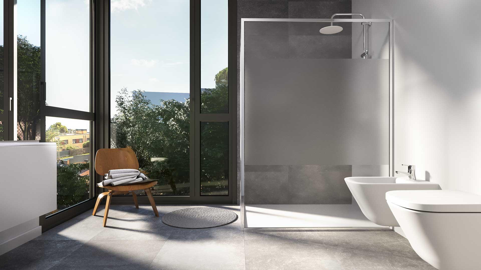 Renders de baños para arquitectura residencial