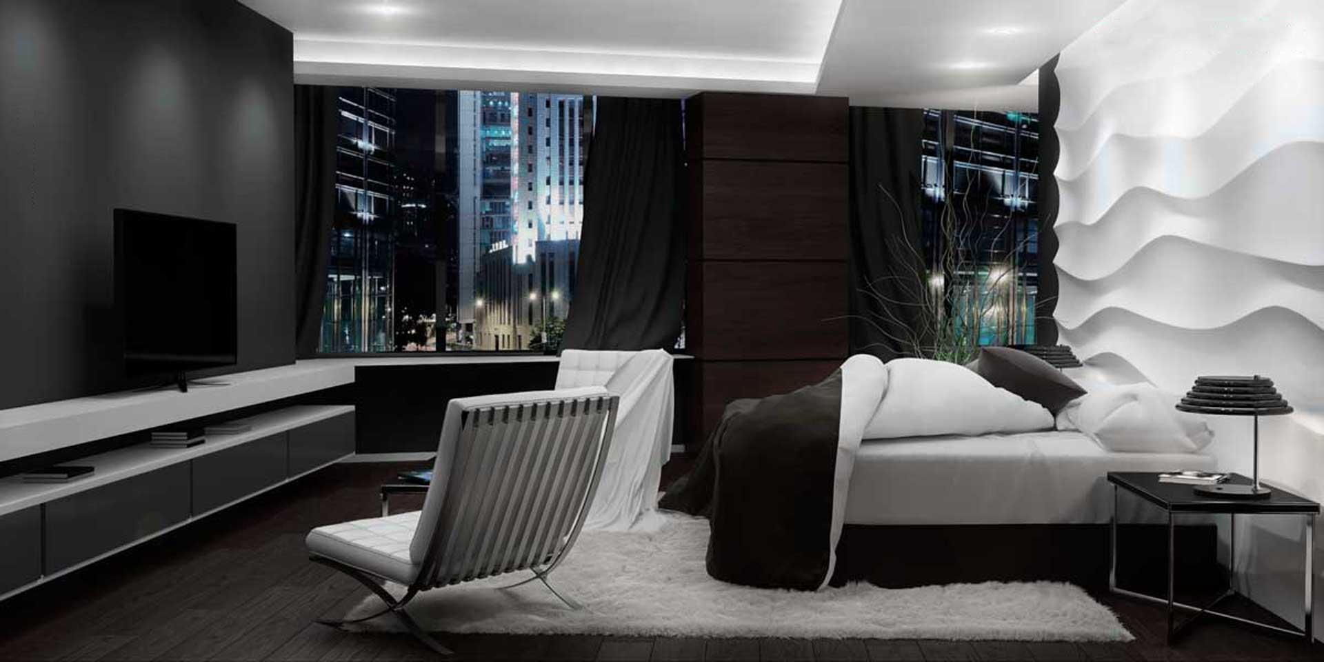 renders habitación hotel