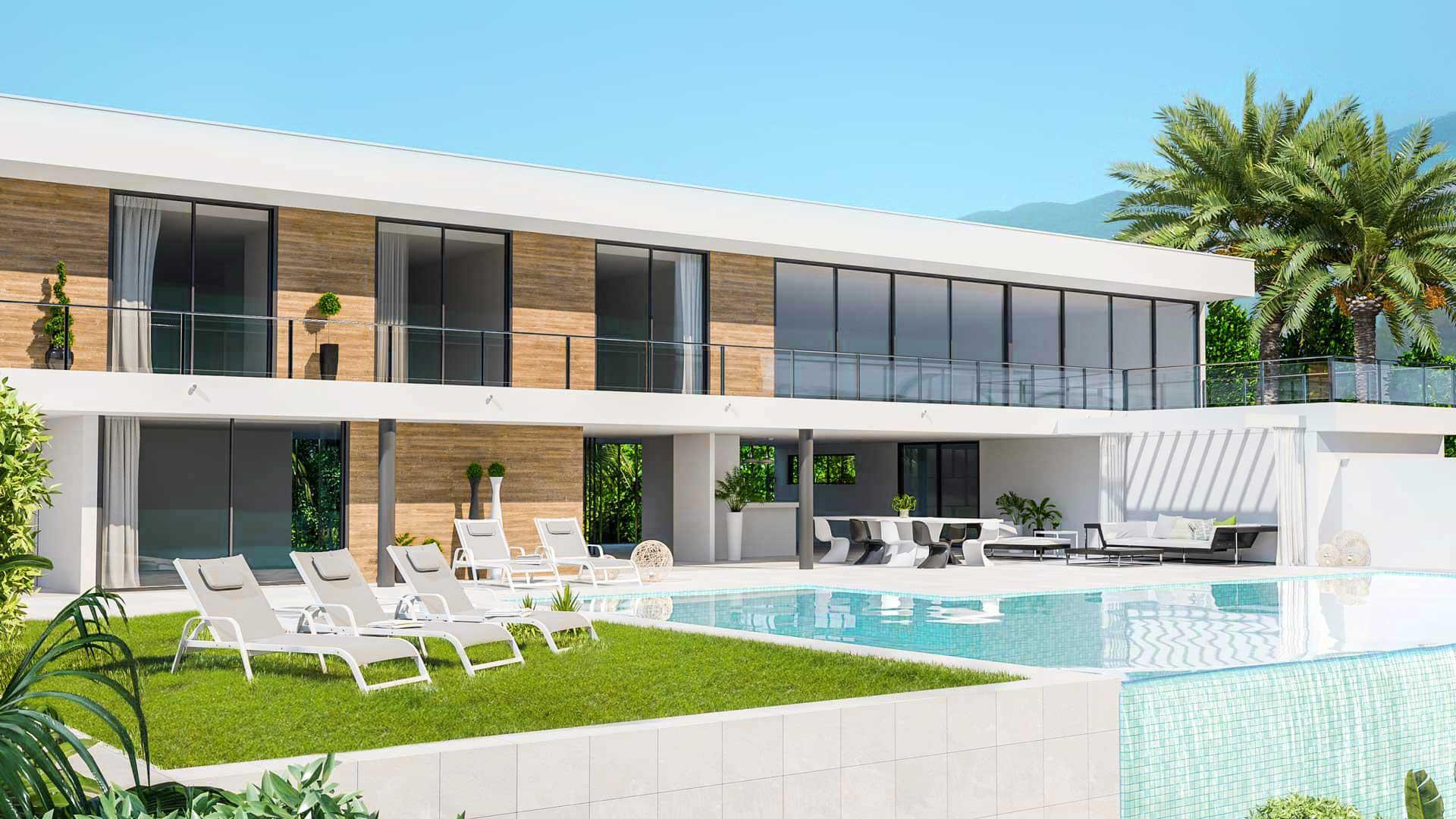 Villa de alto standing en Ibiza