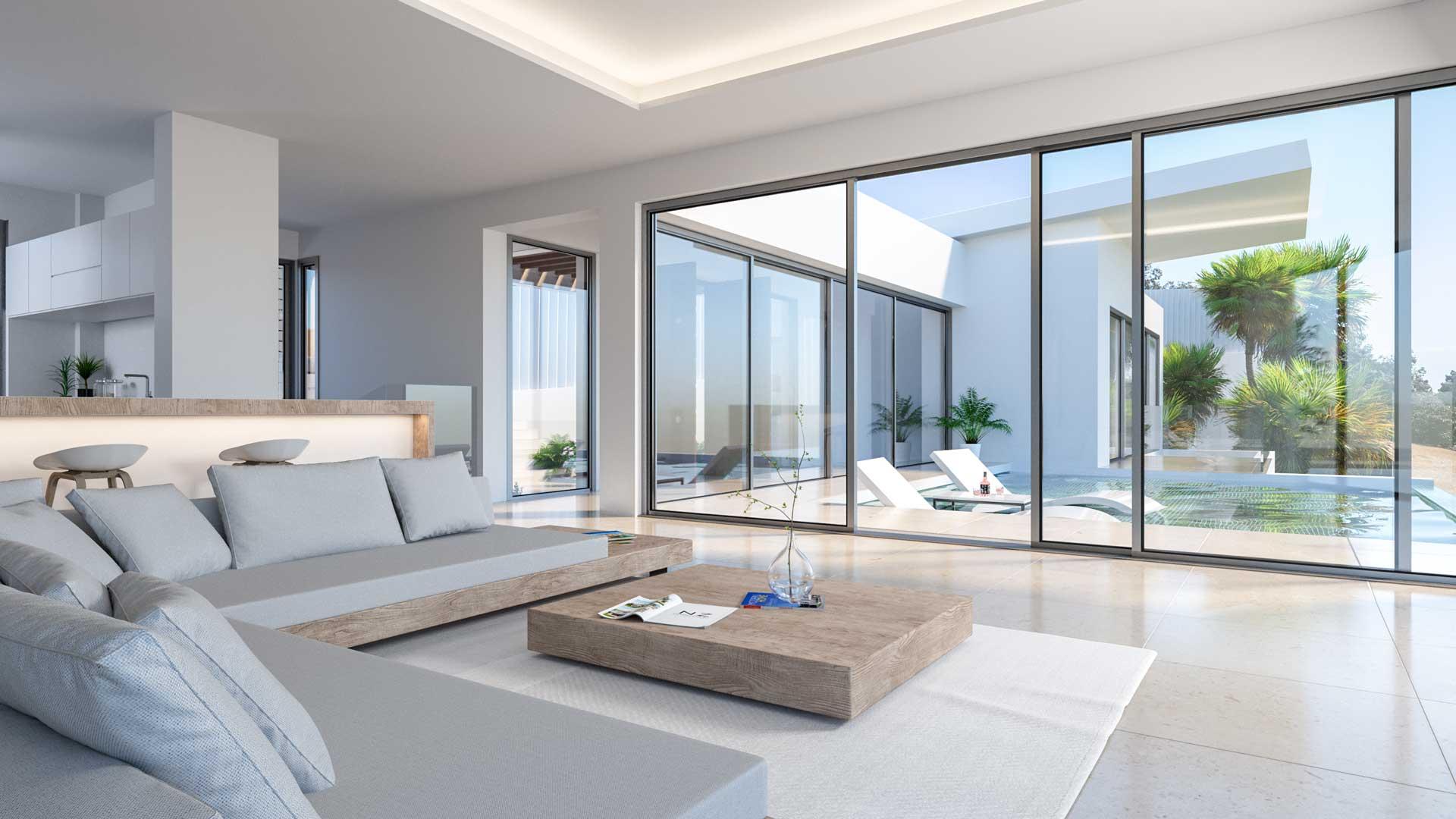 Renders de viviendas de lujo para Real Estate en Marbella