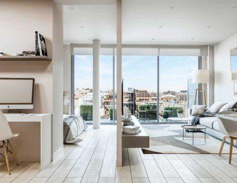 Renders de una Promoción de viviendas en Sabadell (Barcelona)