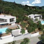 Renders de 2 viviendas unifamiliares en el Maresme (Barcelona)