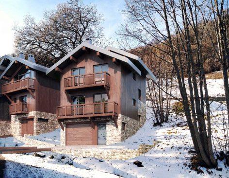 viviendas unifamiliares de madera en Andorra