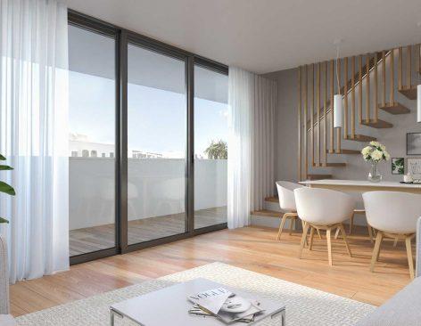 Renders interiores para promociones inmobiliarias en Ibiza