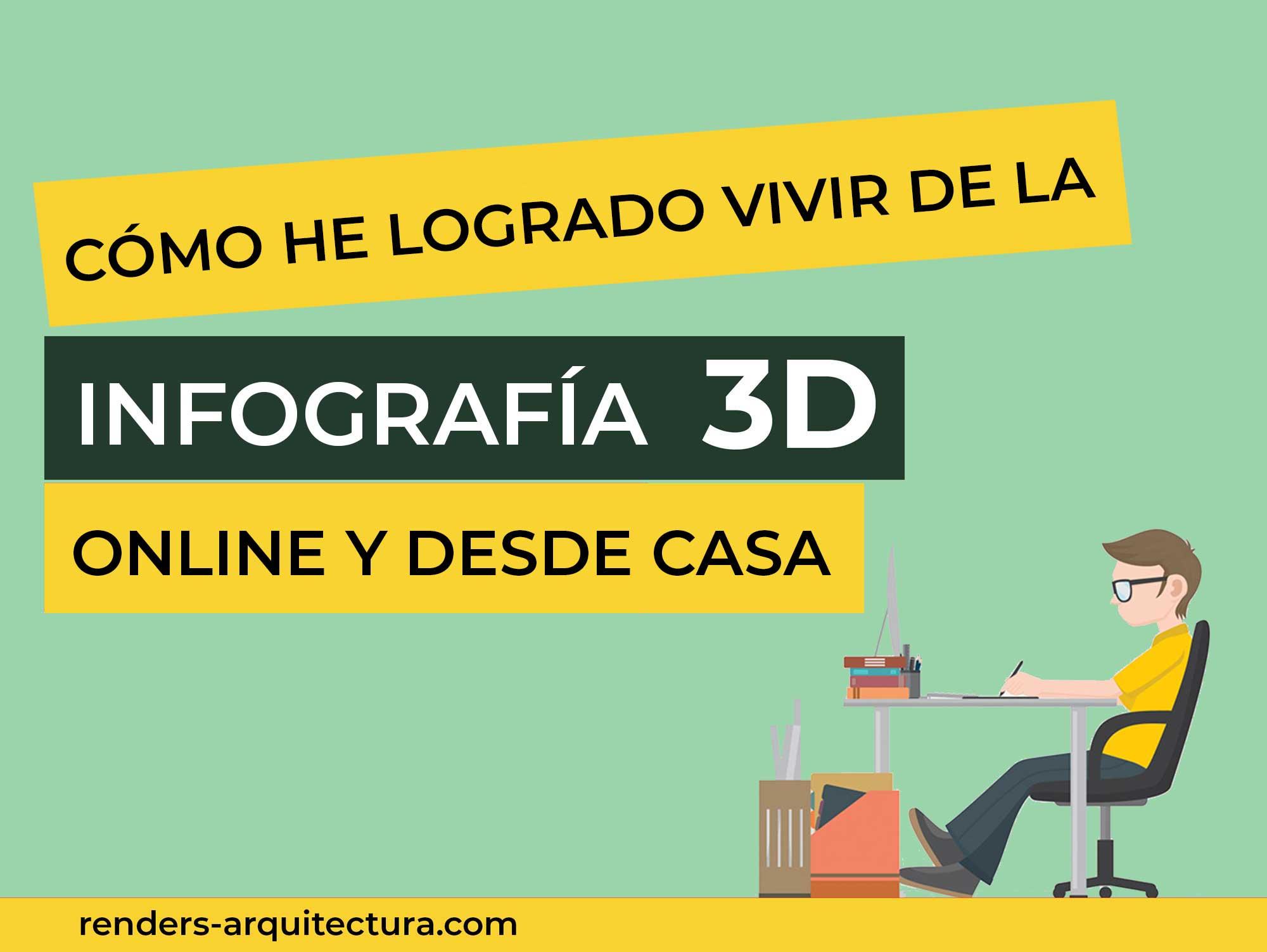 Cómo he logrado vivir de la infografía 3D Online